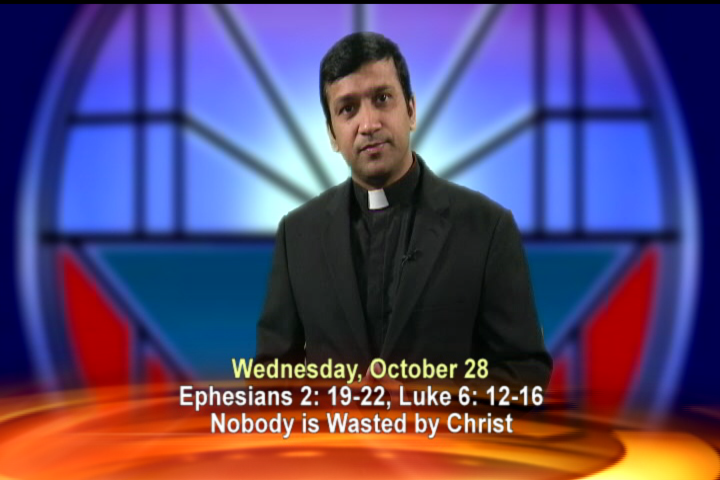 Artwork for Wednesday, October 28th Today's Topic: Nobody is wasted by Christ