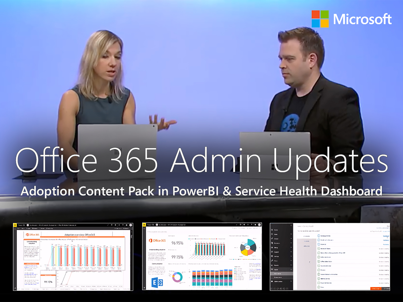 Artwork for Office 365 admin updates
