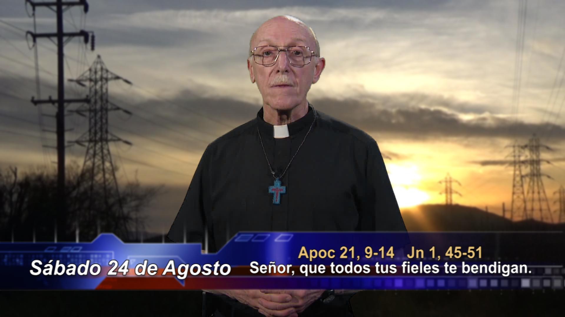 Artwork for Dios te Habla con Fr. Lenny de Pasquale; Tema el hoy: Señor, que todos tus fieles te bendigan.