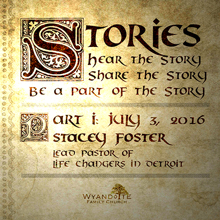 Stories Part 1: Stacey Foster