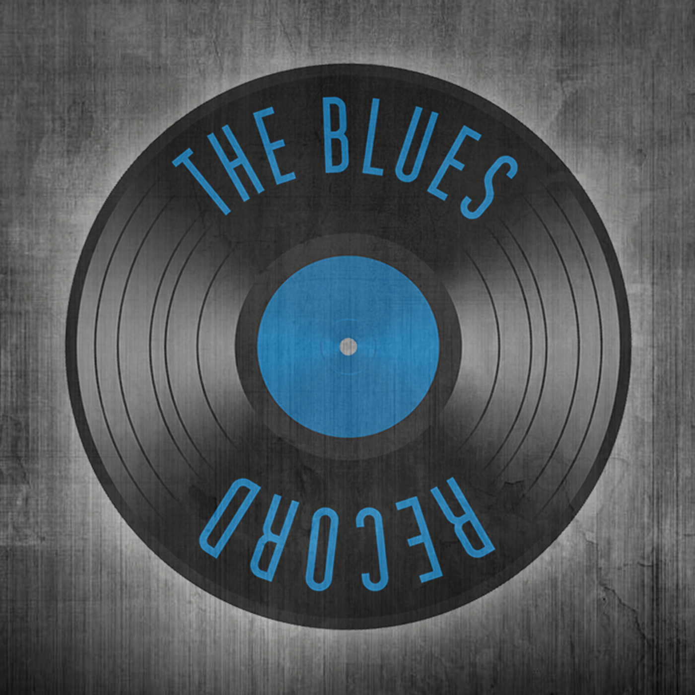 The Blues Record show art