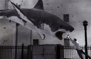 Mega Shark vs. Mecha Shark / Sharknado (the first one)