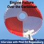 Artwork for 103 Cirrus CAPS Parachute Pull over the Caribbean – Interview Ed Regensburg