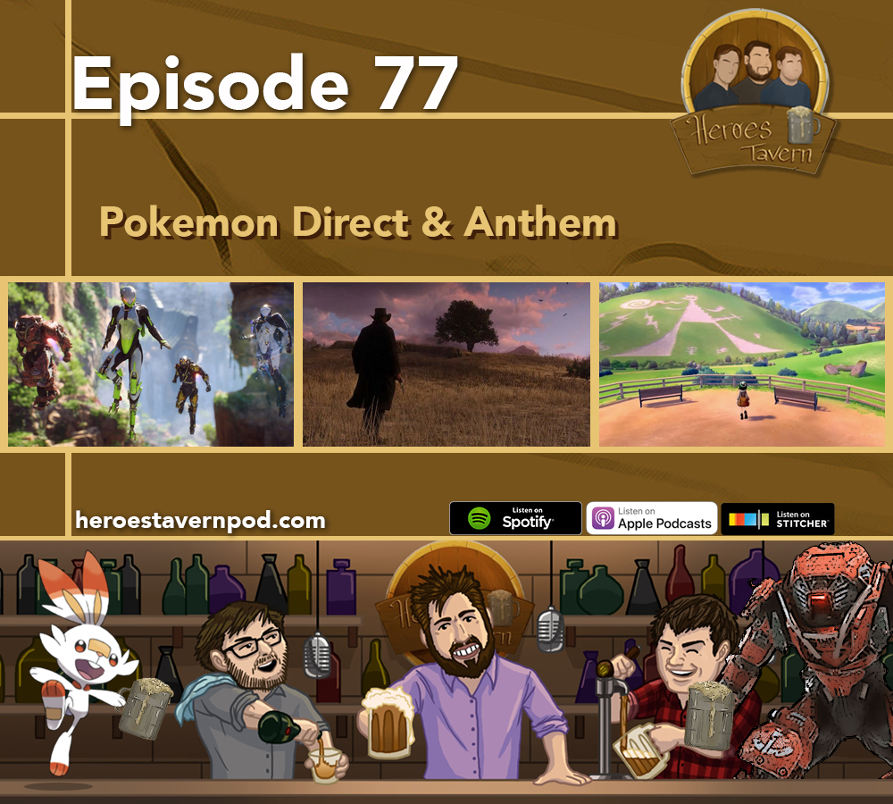 Artwork for Ep 77 - Pokemon Direct and Anthem