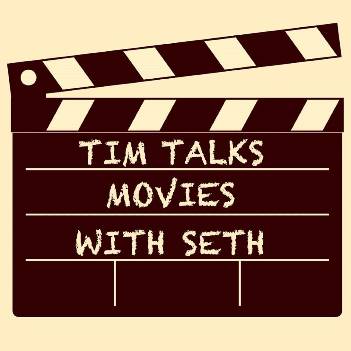 Tim Talks Movies with Seth show art