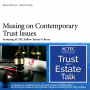 Artwork for Musings on Contemporary Trust Issues