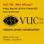 Artwork for VUC750 - Who AR You?