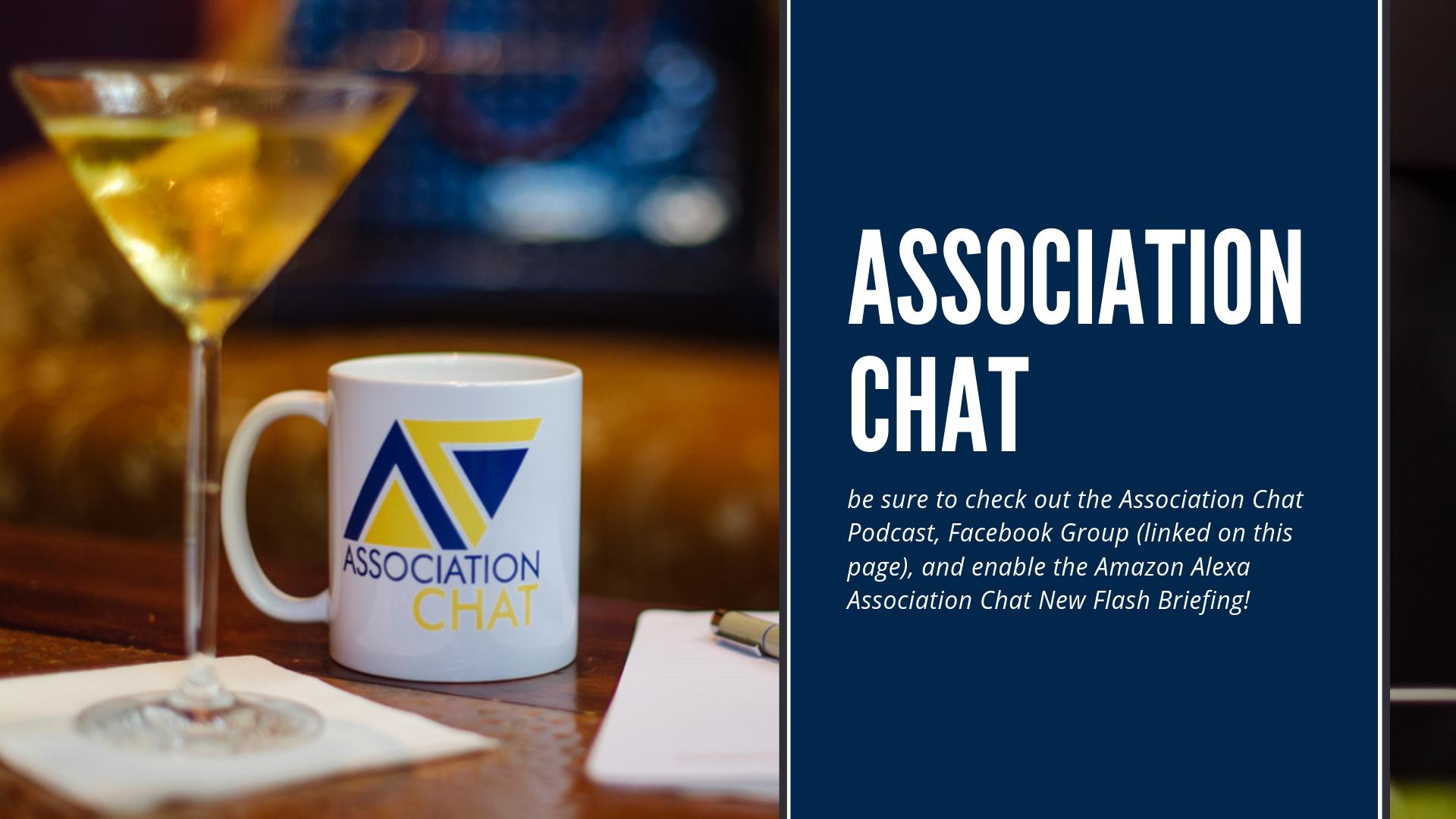 Artwork for Association Chat News Flash Briefing: September 17, 2018
