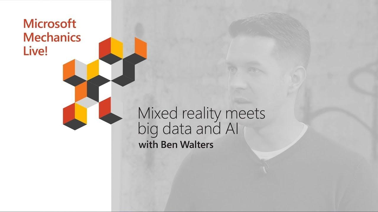 Artwork for HoloLens meets IoT, Databricks and AI | Microsoft Ignite 2018