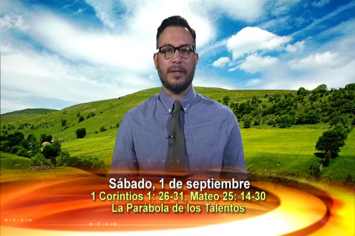Artwork for Dios te Habla con Elder Samaniego;  Tema el hoy: La Parábola de los Talentos