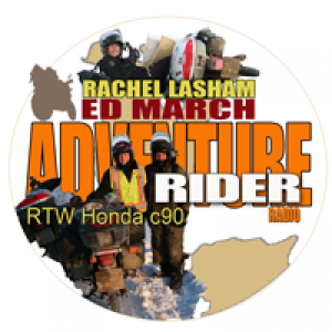 Ed March & Rachel Lasham RTW on Honda C90 Motorbikes