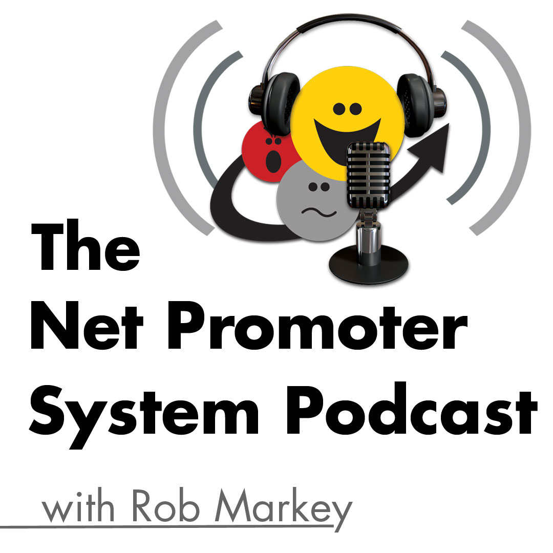 Artwork for Ep. 95: Rob Markey Answers Listeners' Net Promoter System Questions