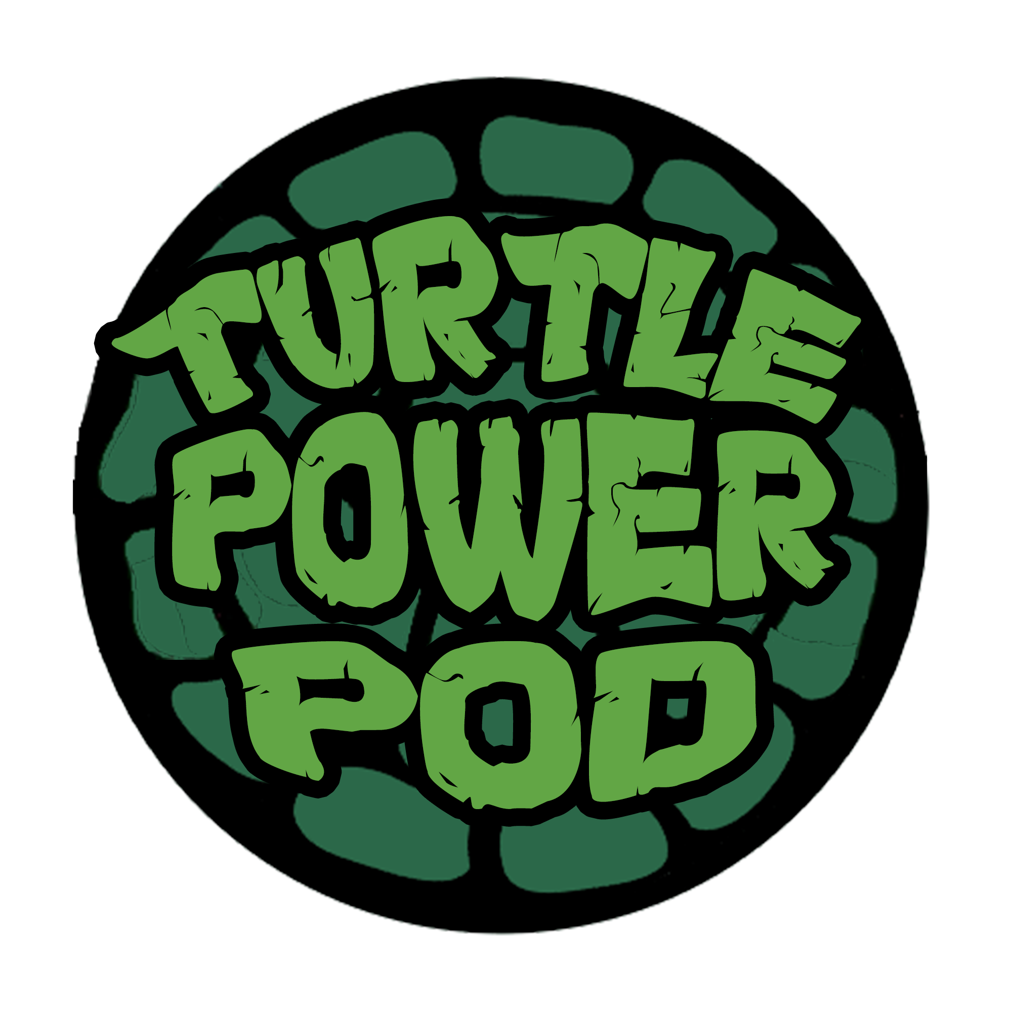 Turtle Power Pod show art