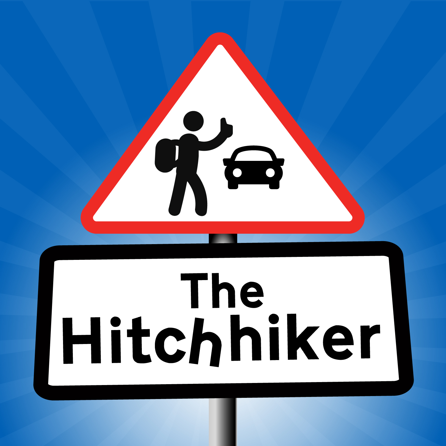 The Hitchhiker show art