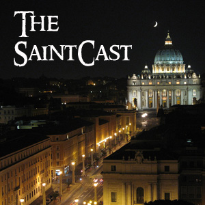 SaintCast #96, SaintCast in Rome! 1st stop-St. Peter's, basilica visit, secrets in Piazza S. Pietro, feedback +1.312.235.2278