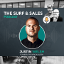 Artwork for Surf and Sales S1E20 | How a Control Freak Can Learn to Scale Sales with Justin Welsh
