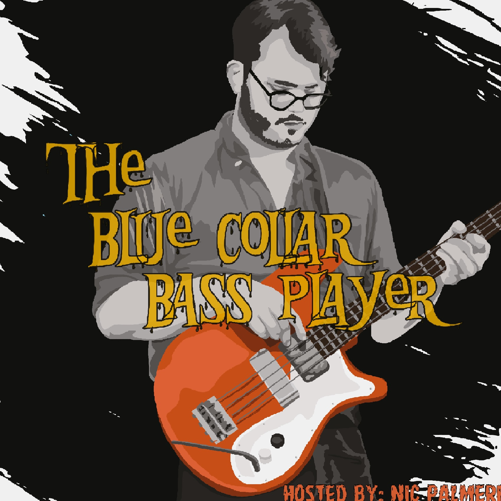 The Blue Collar Bass Player show art