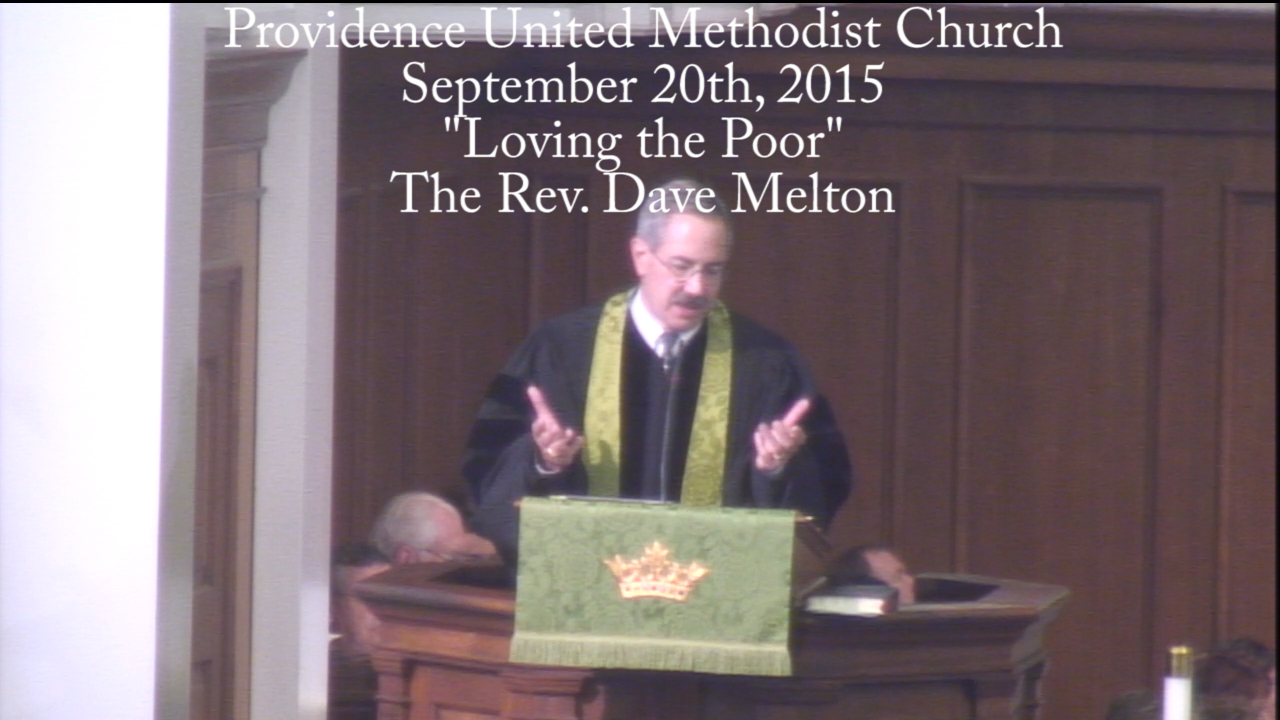 "Traditional Worship Service ""Loving the Poor"""