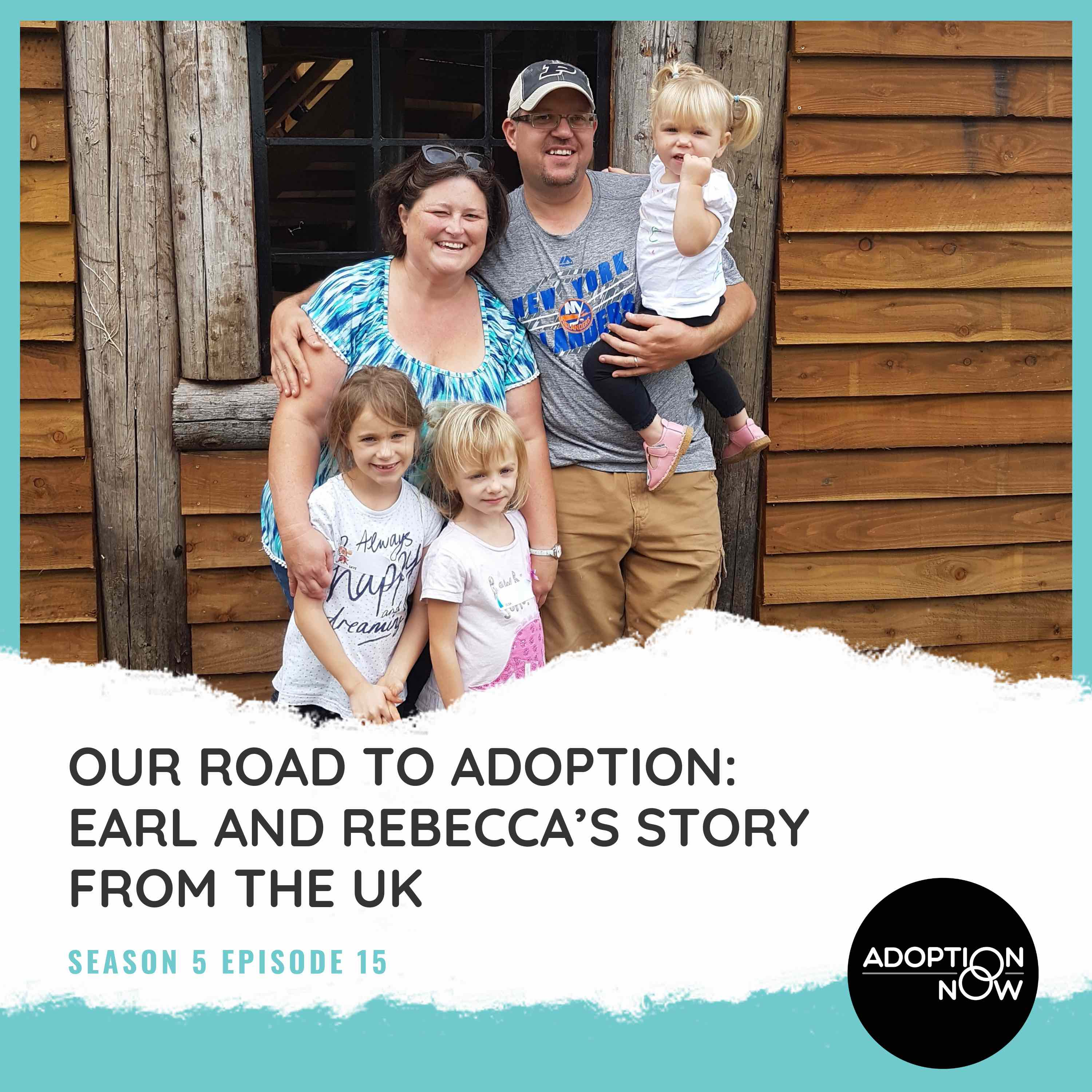 Our Road to Adoption: Earl and Rebecca's Story from the UK [S5E15] show art