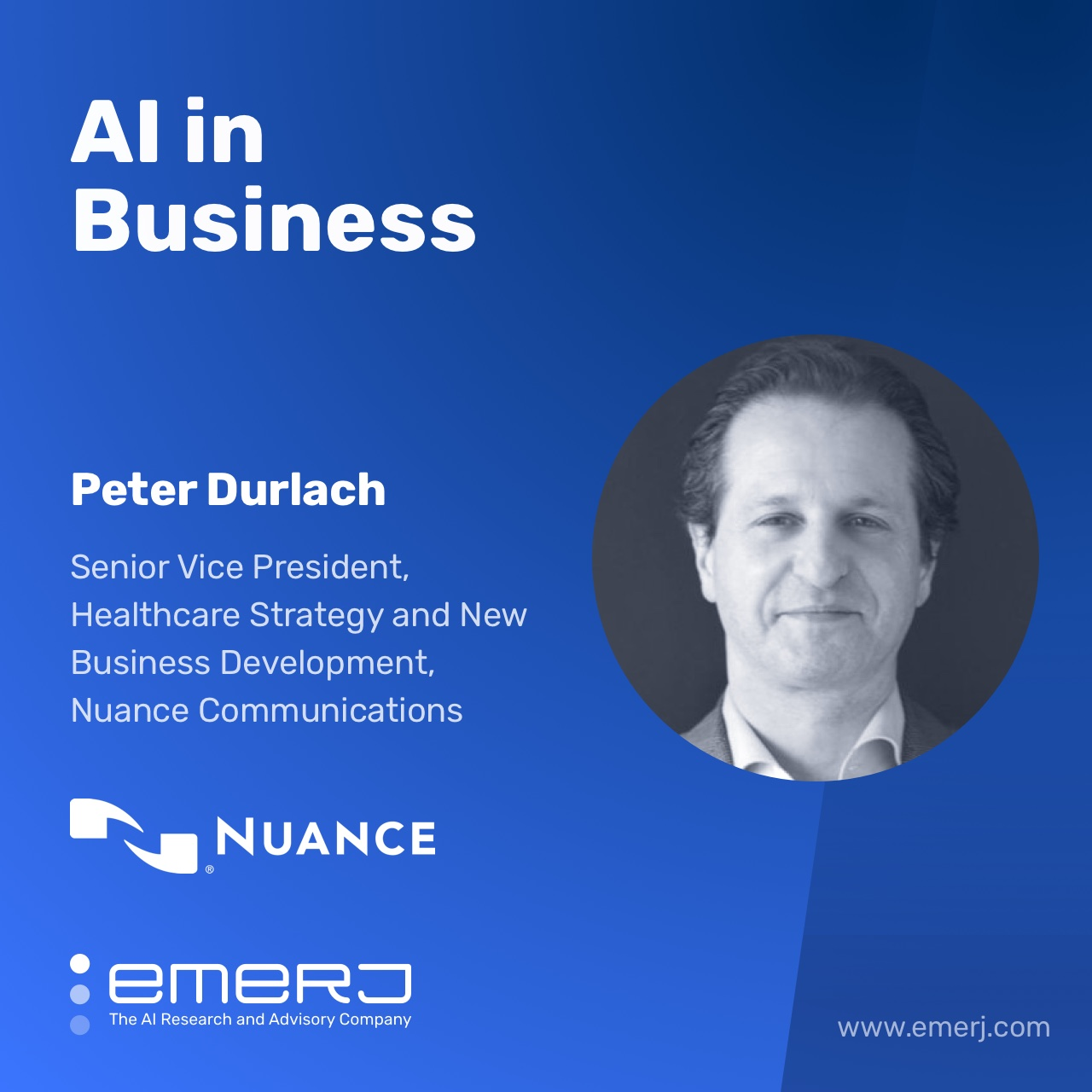 AI for Revenue Recovery in Healthcare - with Peter Durlach of Nuance Communications