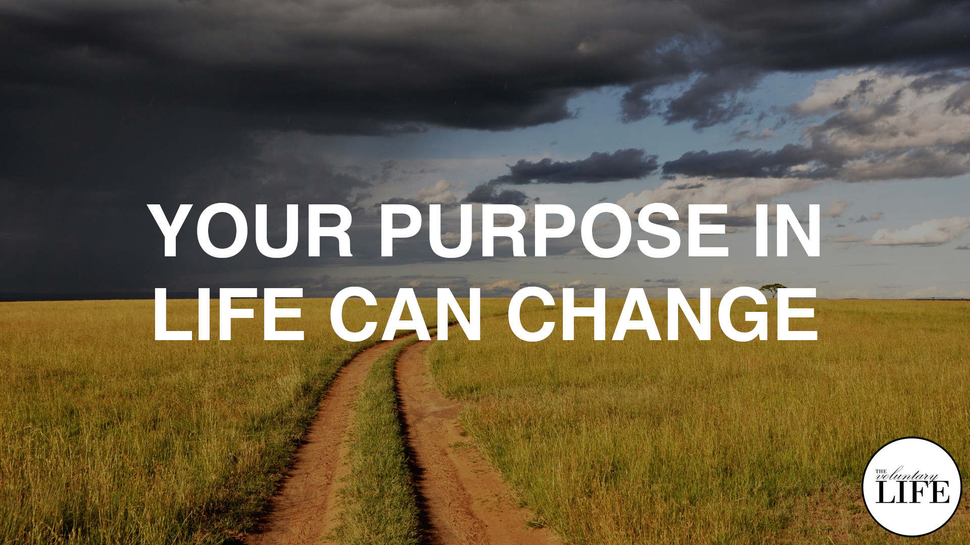 358 Your Purpose In Life Can Change
