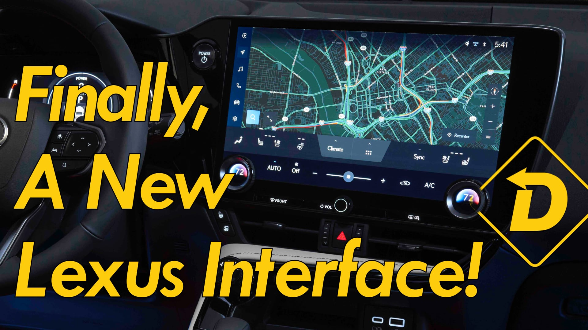All-New Lexus Interface Adds Tech (And Yes, It Ditches The Touchpad)