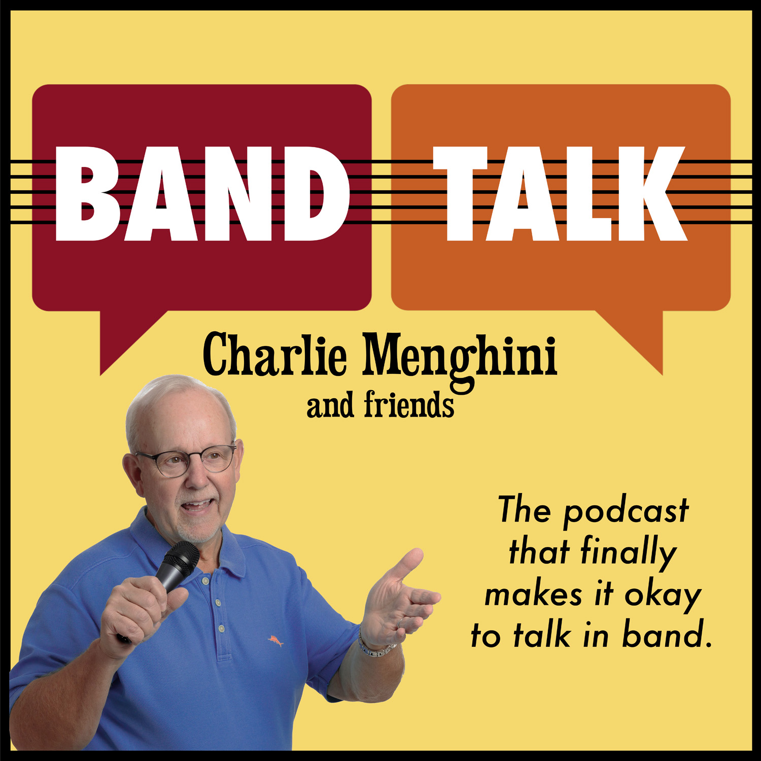 Band Talk with Charlie Menghini and Friends show art