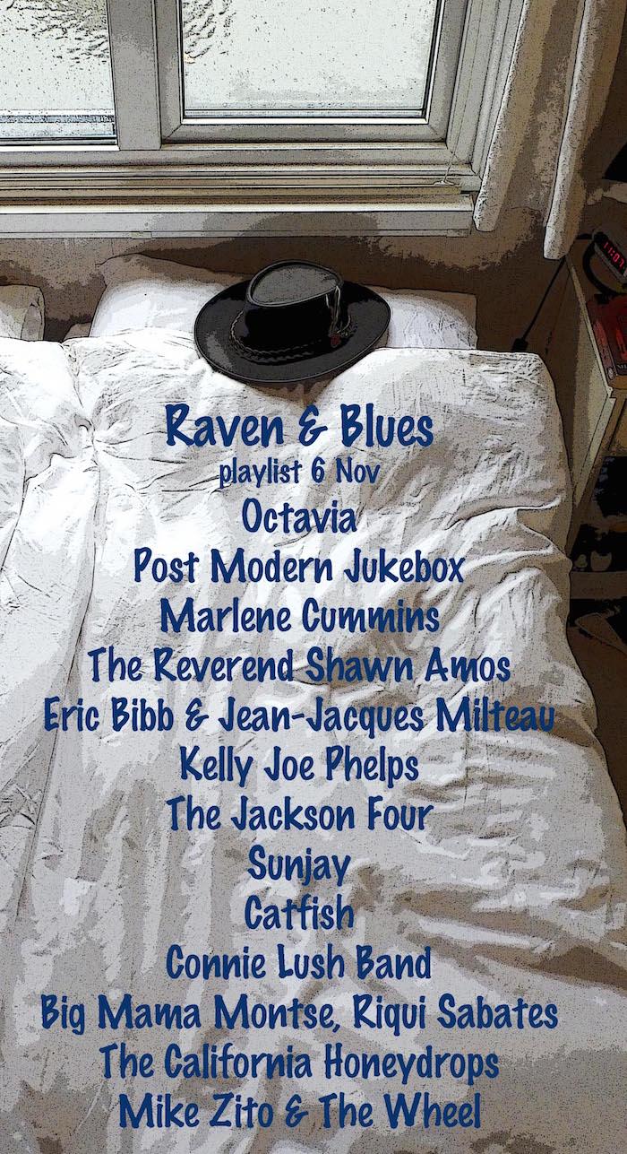Raven and Blues 6 Nov 2015