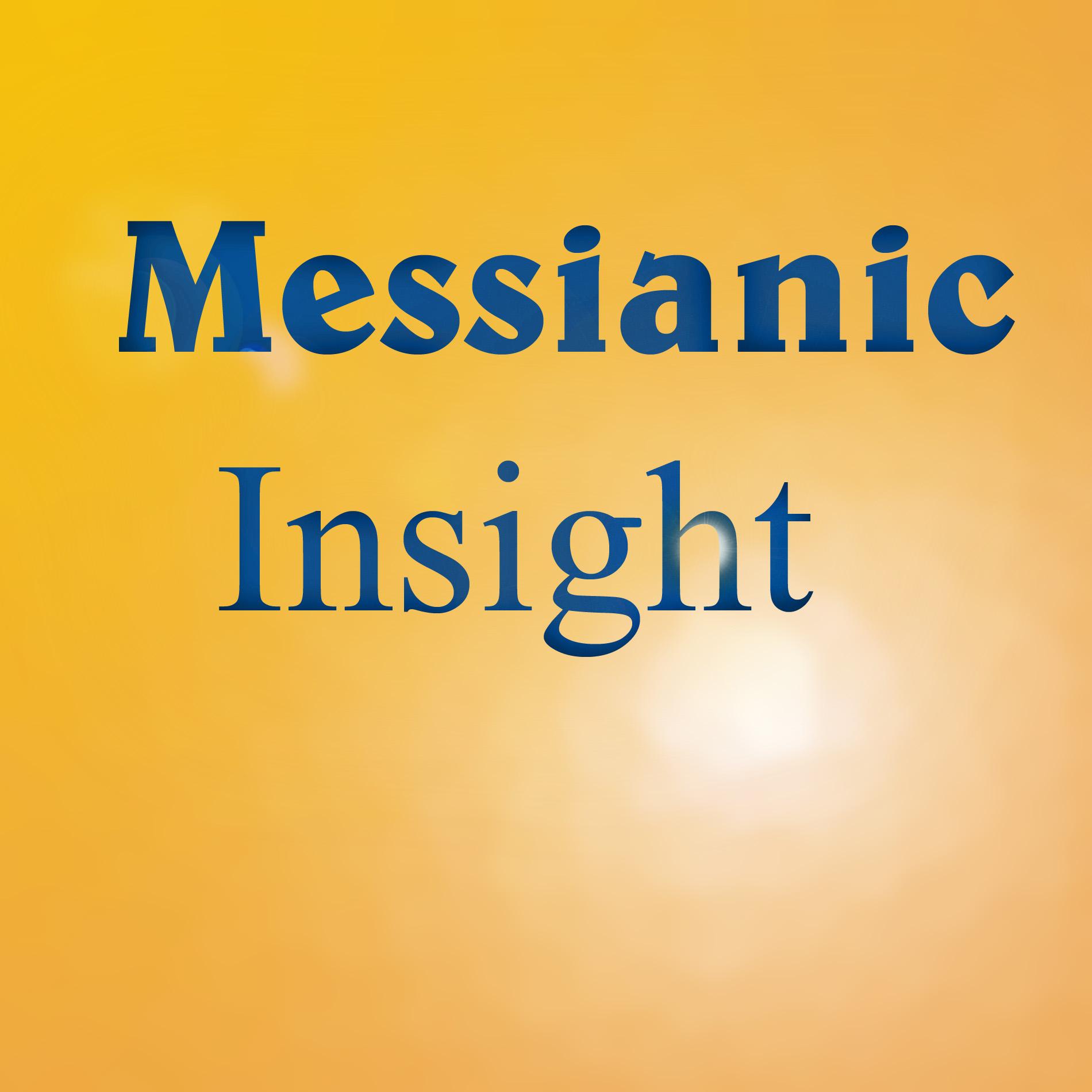 Messianic Insight show art
