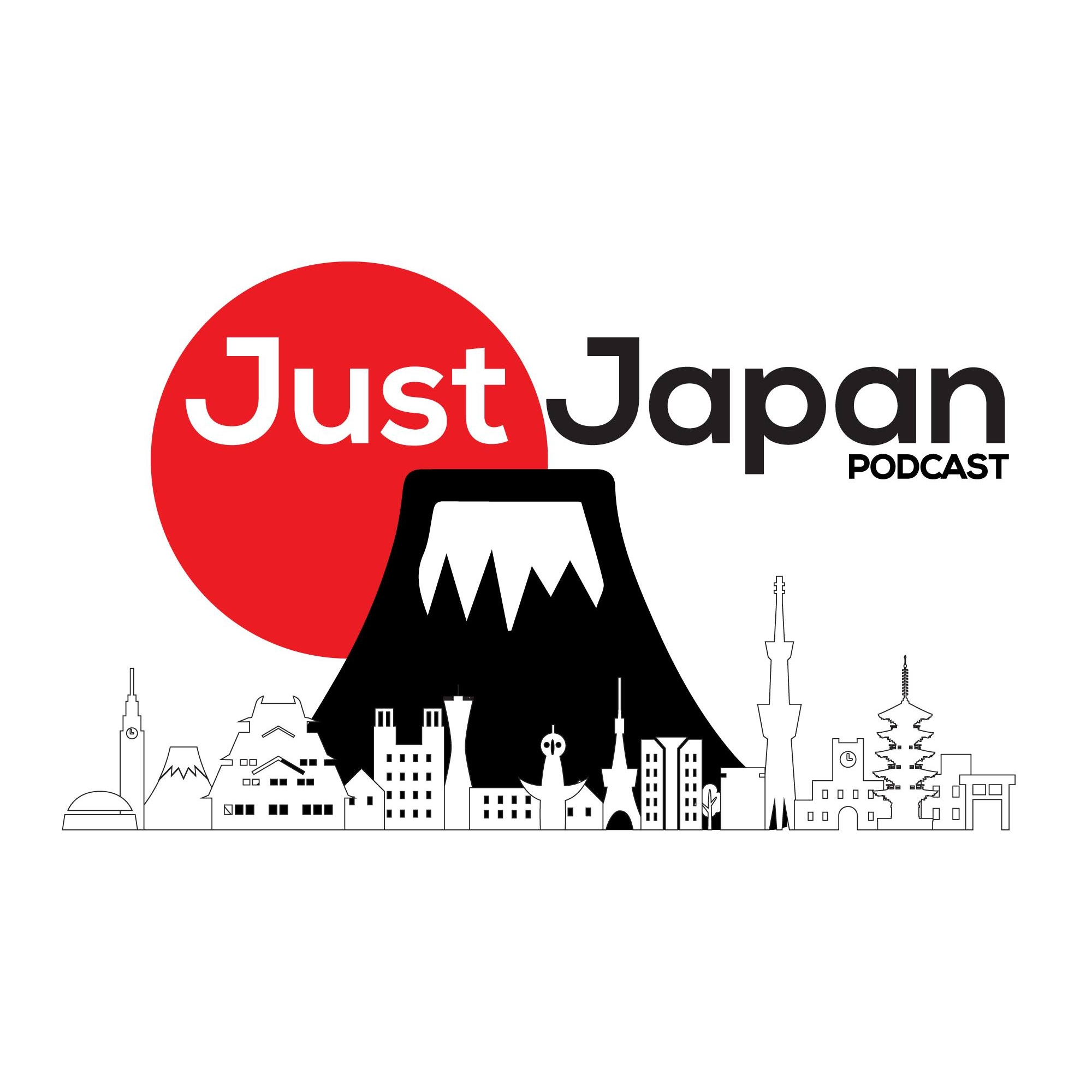 Just Japan Podcast 201: Reporter Leavin on a Jet Plane - with Adam Walsh show art