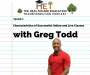 Artwork for Greg Todd- Characteristics of Successful Online and Live Classes