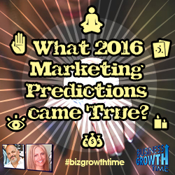 76 – 2016 Predictions-Did They Come True?