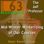 Artwork for Mid-Winter Winterizing of Our Courses | Bonus Episode 63