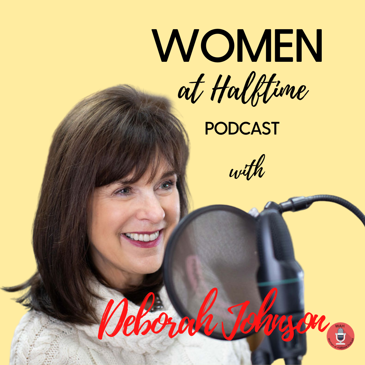 Women at Halftime Podcast show art