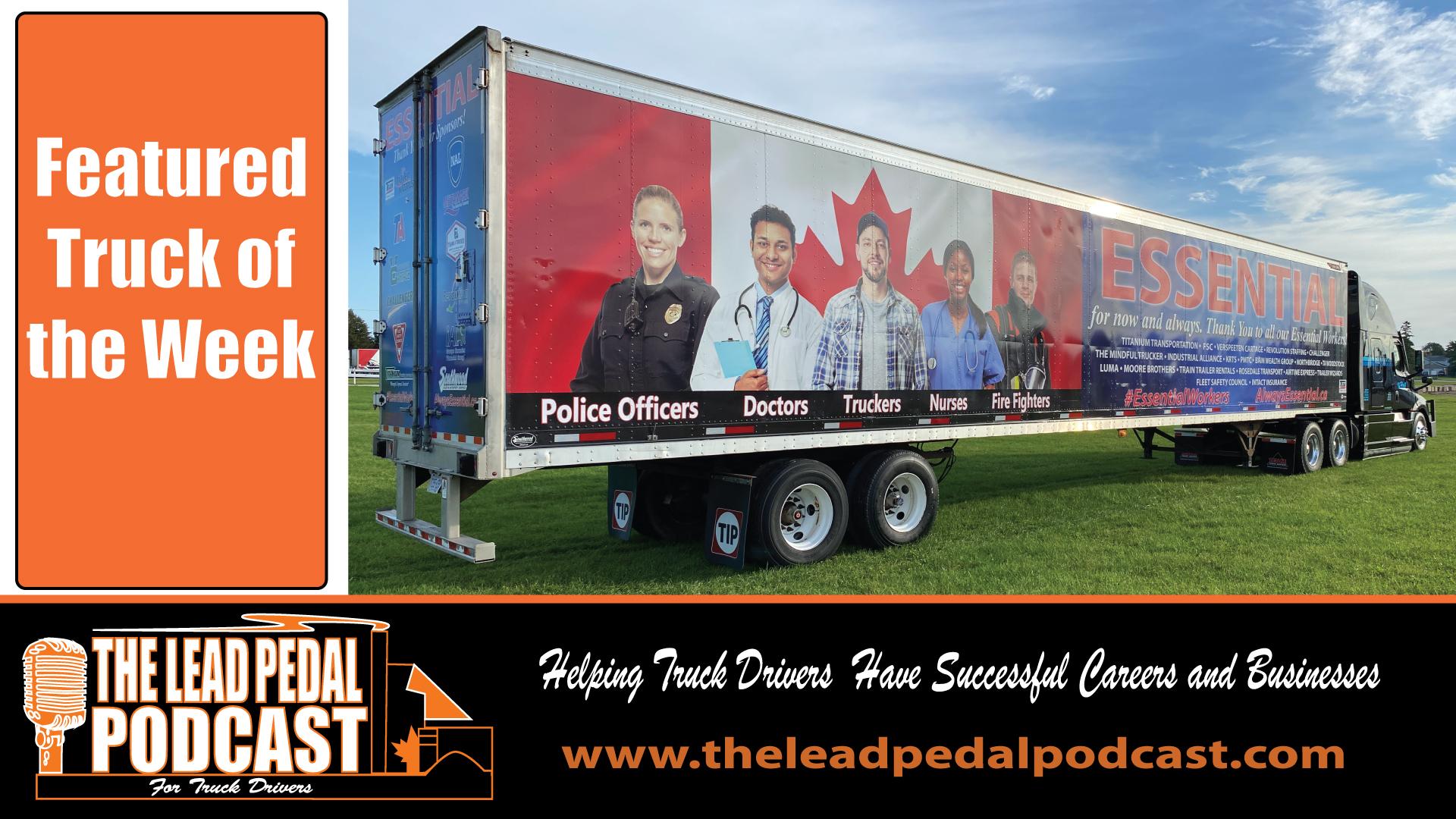 LP700 Featured Truck - Essential Trailer