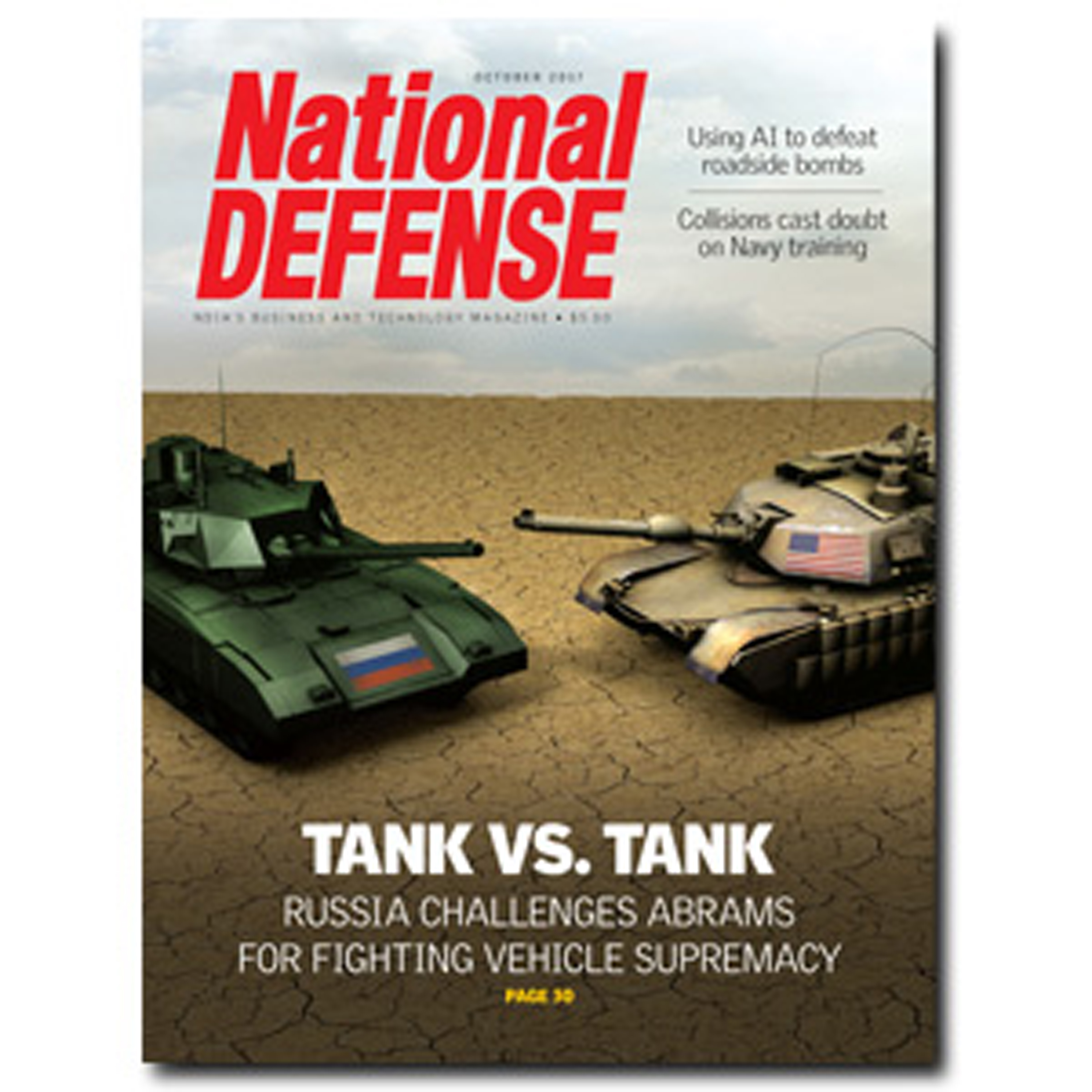 Artwork for October 2017 — Tank Vs. Tank: Russia Challenges Abrams for Fighting Vehicle Supremacy