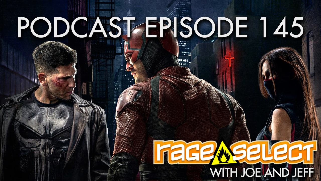 Rage Select Podcast Episode 145 - Jeff and Joe Answer Your Questions!