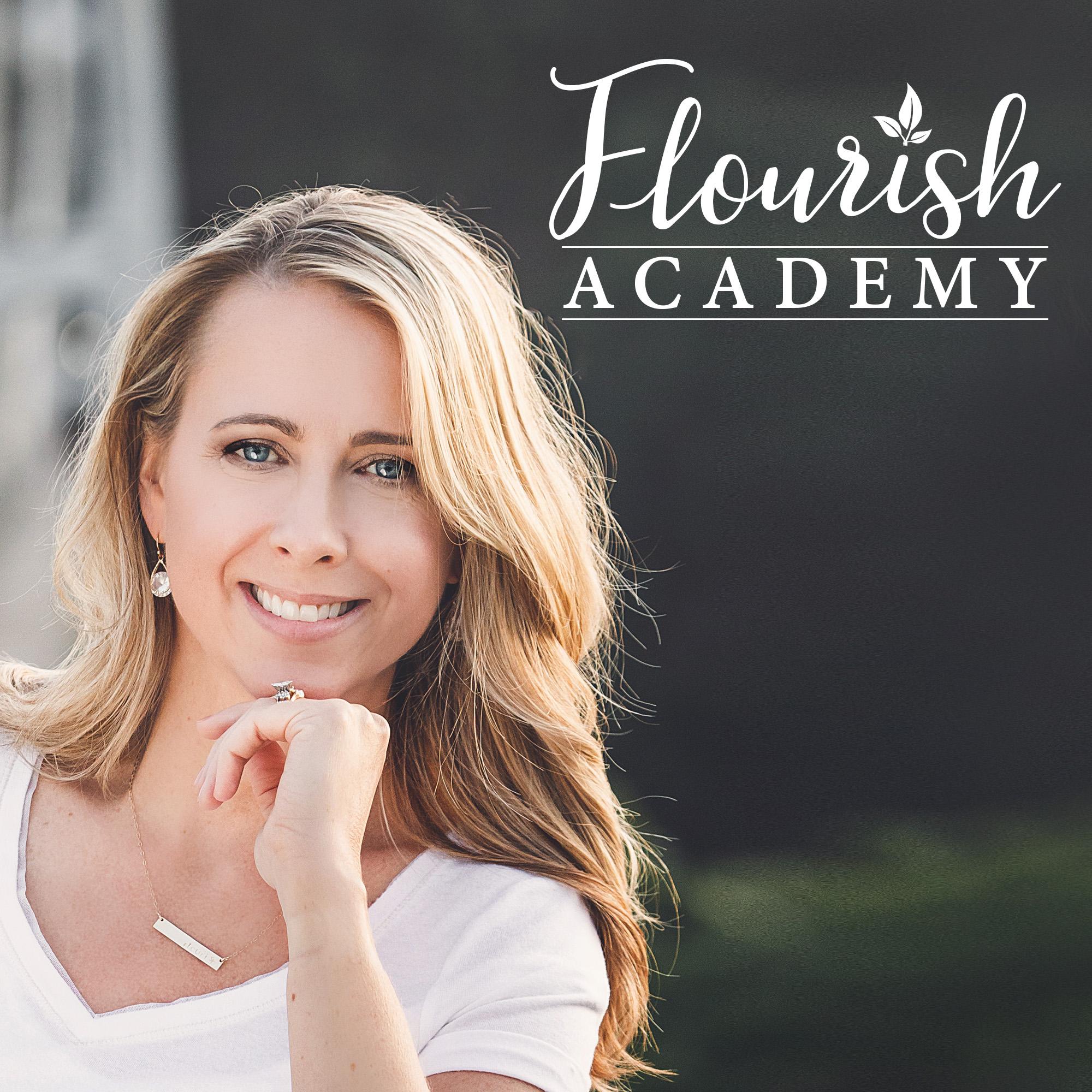 Flourish Academy Podcast show art