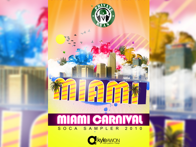 Private Ryan Presents The Miami Carnival Soca Sampler 2010