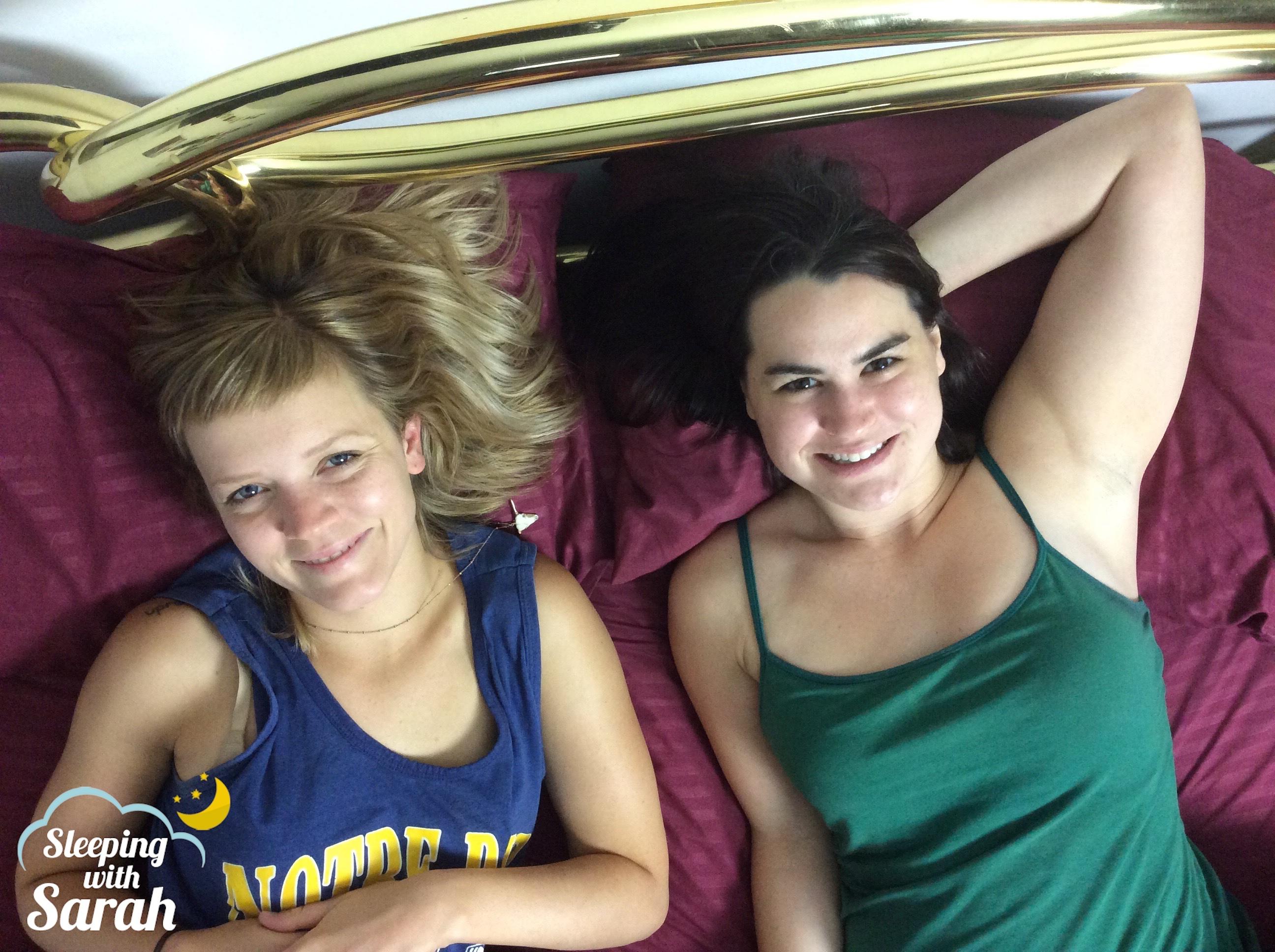 Grace Lusk & Sarah Albritton Sleeping with Sarah podcast