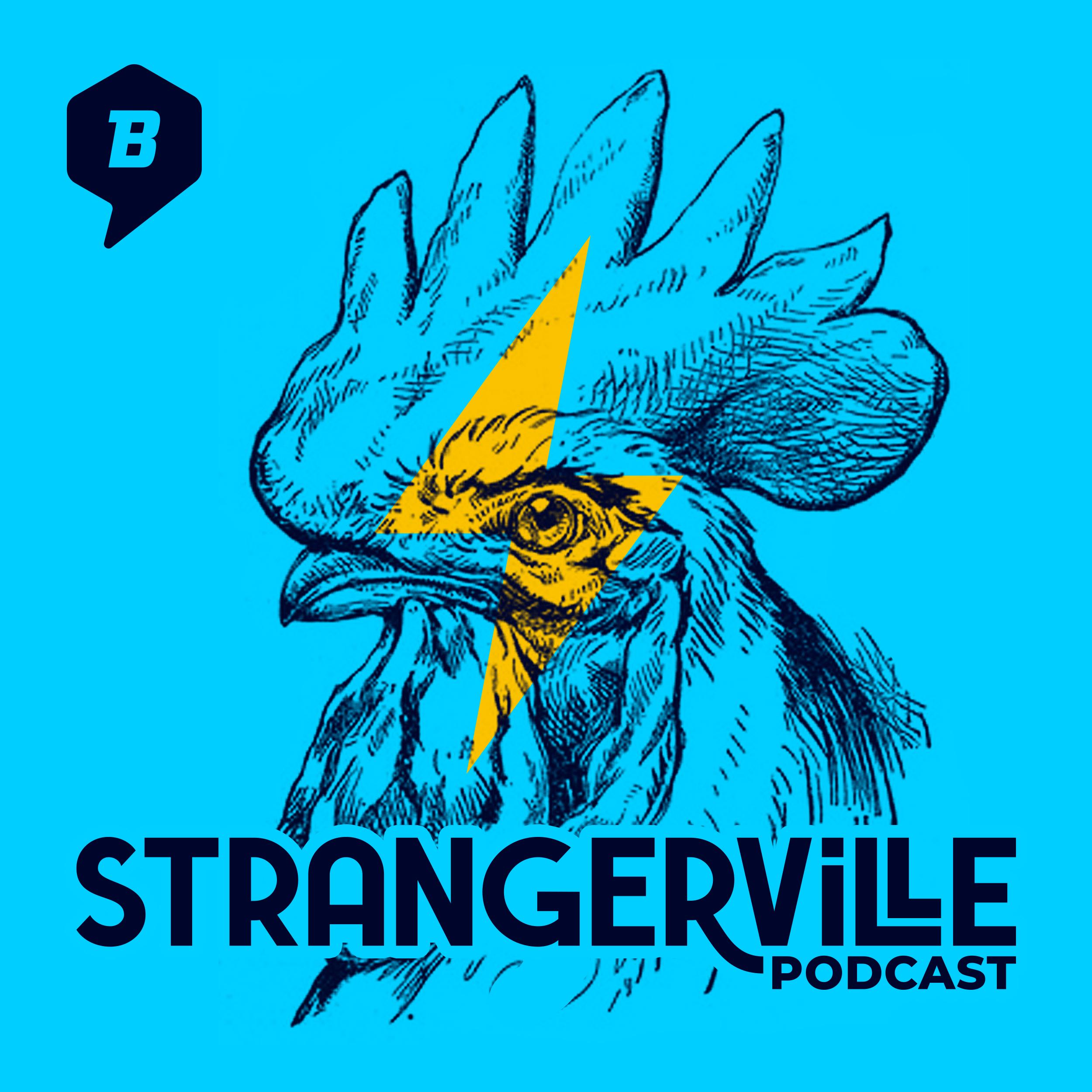 Strangerville Podcast show art