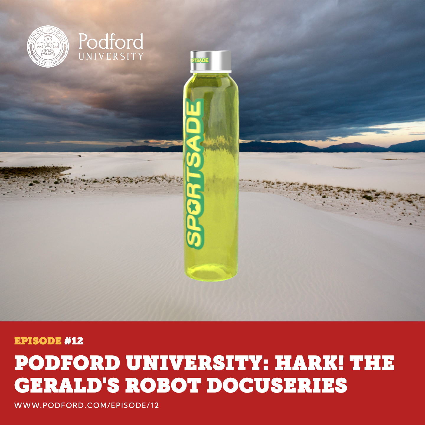 Podford University: Hark! The Gerald's Robot Docuseries