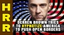 Artwork for Derren Brown tries to hypnotize America to believe in OPEN BORDERS