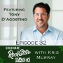 Artwork for Margins, Culture, and Servant Leadership with Tony D'Agostino