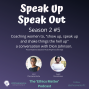 """Artwork for """"Show Up, Speak Up, Shake Things the Hell Up."""""""