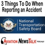 Artwork for 144 3 Things To Do Immediately When Reporting an Accident per NTSB 830 + GA News