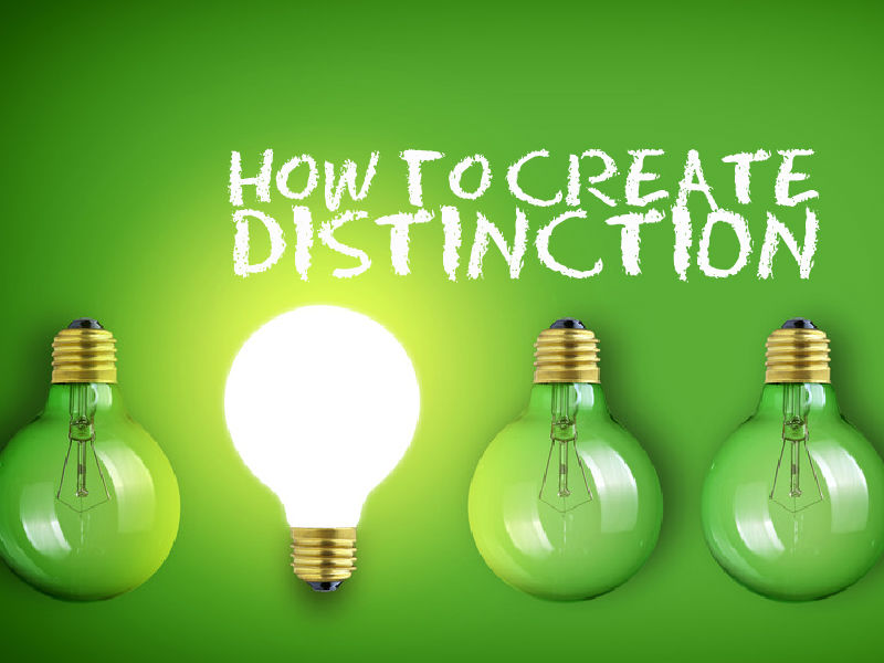 """How to Create Distinction"" with Scott McKain"