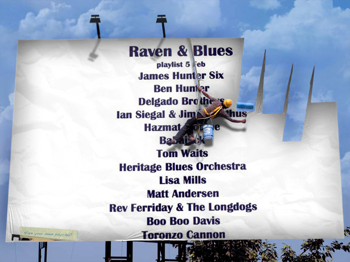 Raven and Blues 5 Feb 2016