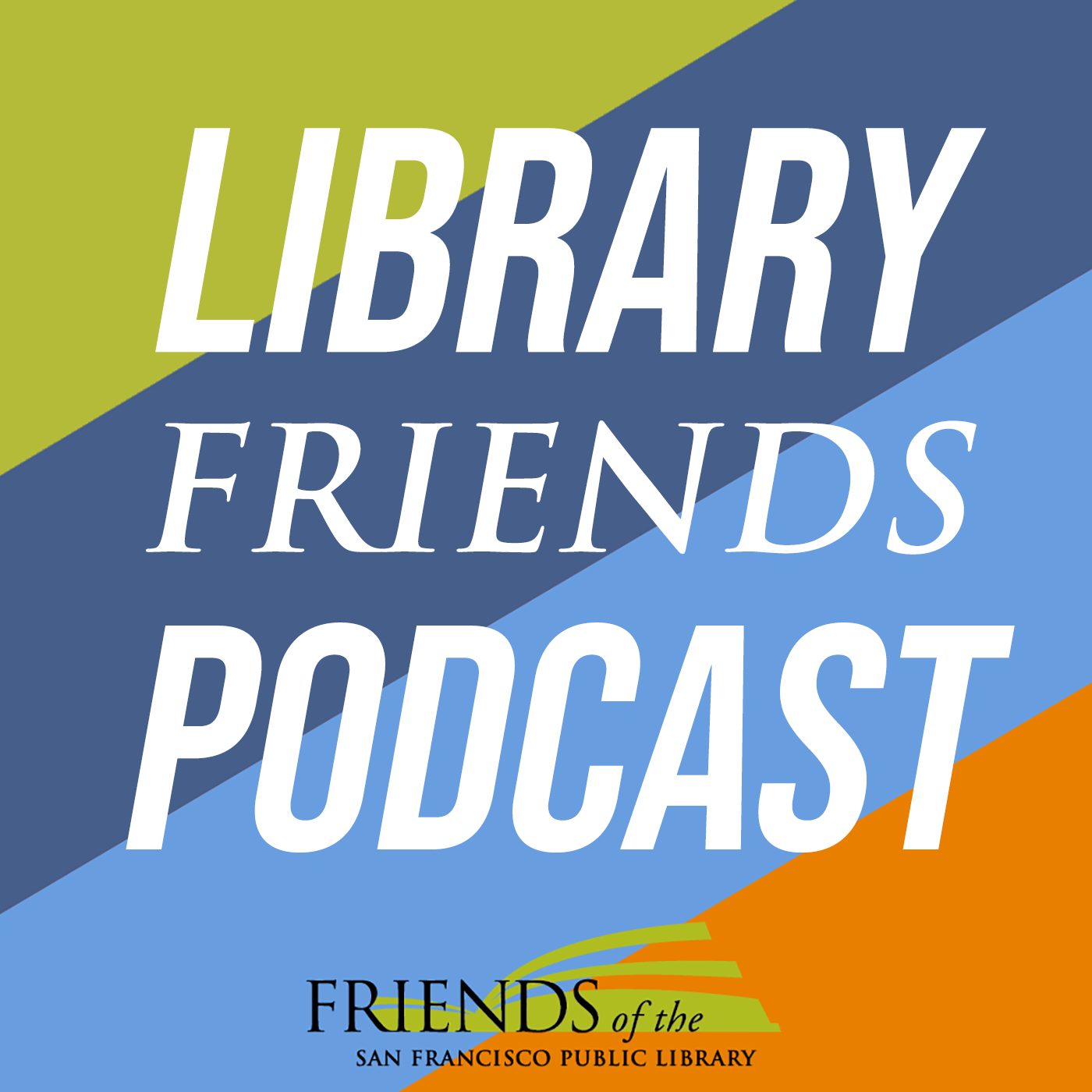 Library Friends Podcast show art