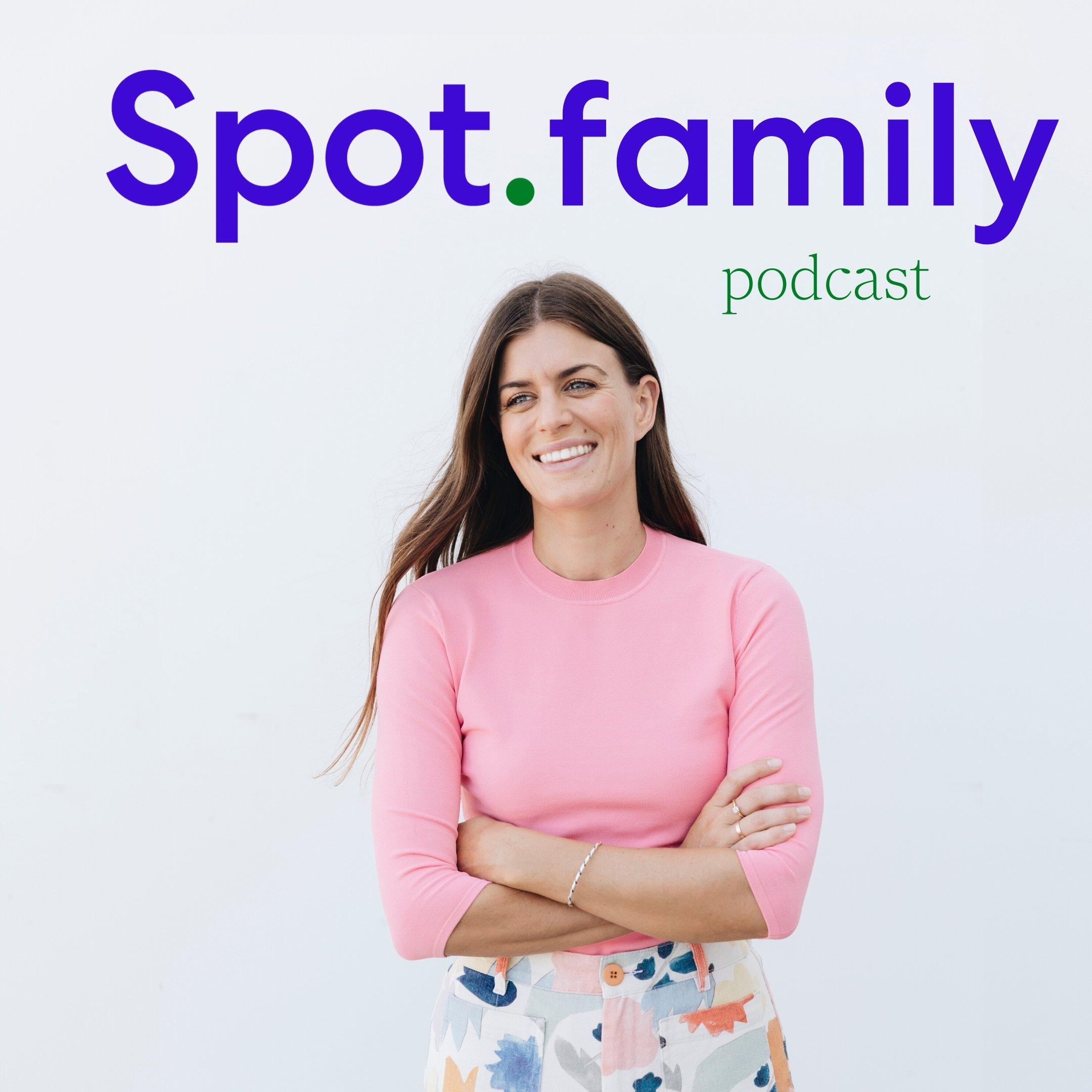 Spot Family Podcast show art